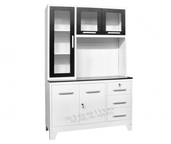 CBH61 Modern Luxurious Steel Kitchen Cabinet