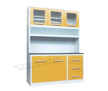 KC-3 Professional customized metal kitchen cabinet from China