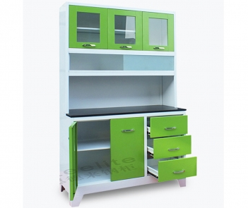 CBH4-F1 New professional best sell customized steel sheet kitchen cabinets