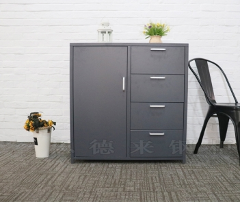 Drawer Buffet Kitchen Cabinet Metal Storage Drawer Cabinet Sideboard