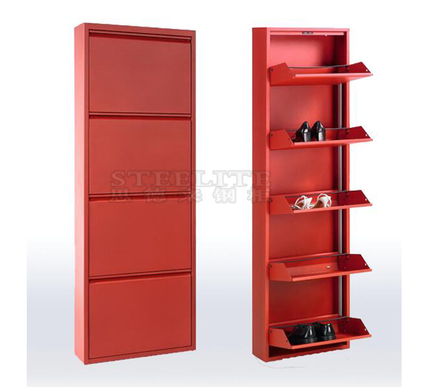 steel shoe rack cabinet