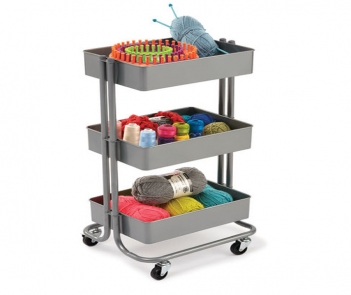 MT-3T new type Metal Kitchen Trolley Cart