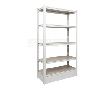 GSN1-5TD Light Duty Storage Metal Decking Shelf Rack