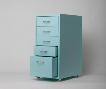OKD-5  Green Color 5 drawer metal cabinet