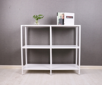 TF-H4 White 3 layers display rack shelf