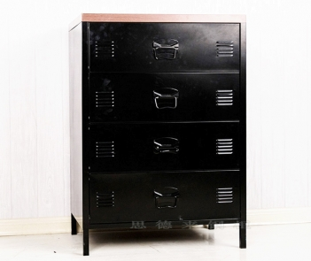 LY-4D 4 door storage cabinet with 2 shelves