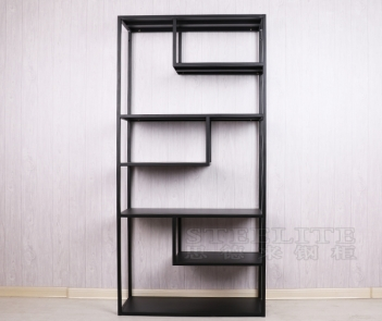 ZL-IS6 living room decorative irregular storage shelf book rack