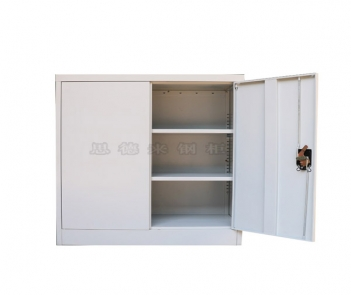 DL-004 Half height 2 Door Steel Book Storage Cabinet