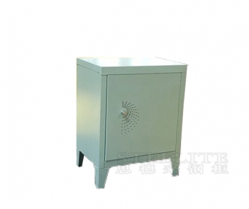 Lk-1T570HS single door mini storage locker nightstand
