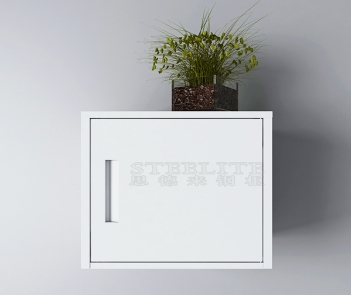 OWS-01 Wall small storage cabinet-white