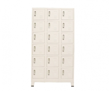 LOCKER-18TW Steel 18 door locker