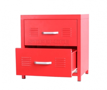 FC-B460 2 Drawers Cabinet Metal Night Stand