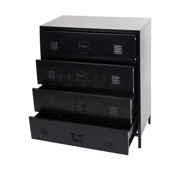 Metal Storage 4 Drawer Cabinet
