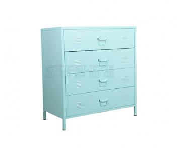 LY-4D Home Steel 4 Chest of Drawer Cabinet