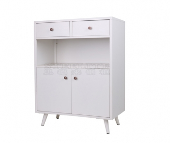 KC-2D White Steel Kitchen Storage Cabinet