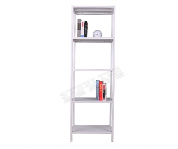 TF-H3 5 layers wall book display rack white