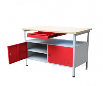 WB-03 metal steel workbench table