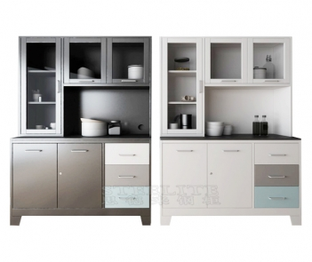 Kitchen Furniture Steel Kitchen Cabinet