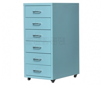 home decor vertical steel drawer cabinet for storage