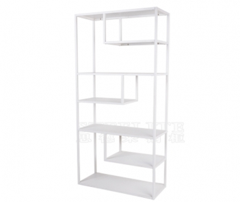 SH-ZX01 white metal display shelf cube bookshelf bookcase