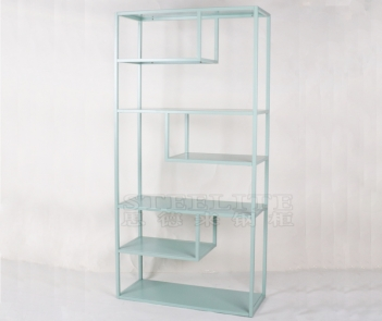 SH-ZX01 fruit green metal display shelf cube bookshelf bookcase