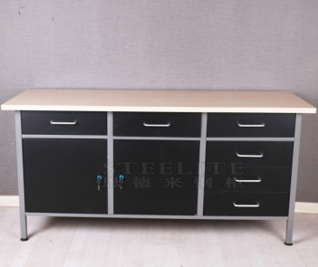 TC-04 Metal Tool Cabinet Workbench With Tool Storage Cabinet