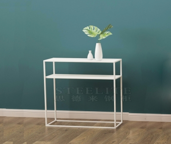 SZ-02 hallway corner living room sofa side table long metal console table