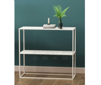SZ-01 hallway corner living room sofa side table long metal console table