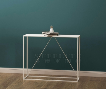 SZ-06 hallway corner living room sofa side table long metal console table