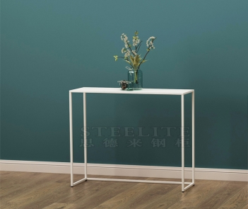 SZ-04 hallway corner living room sofa side table long metal console table
