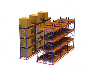 DDR double-deep racking system